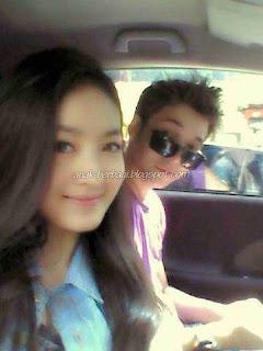Poto Natasha Dengan Stefan Di dalam mobil-