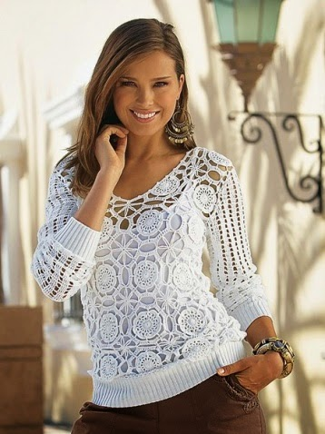 Вязание летней кофточки для девушки