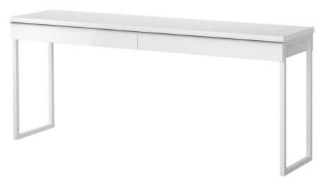 white writing desk - White Desk