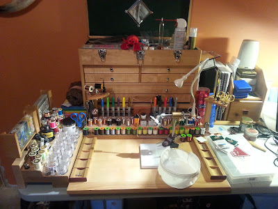 Finest Fly Tying Benches of Colorado
