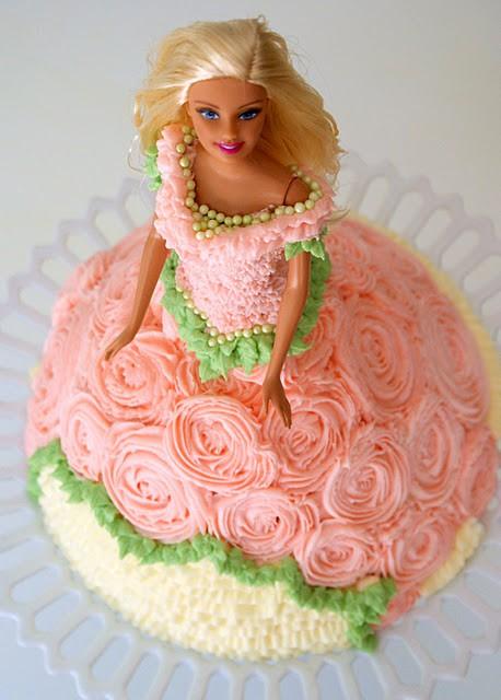 Фото тортов барби