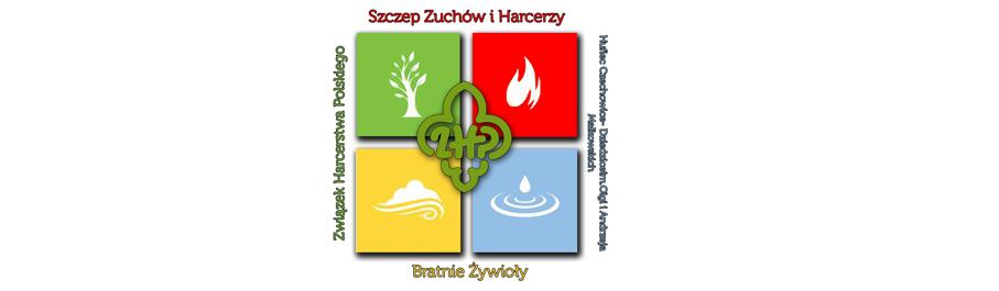 """Związek  Harcerstwa Polskiego Szczep zuchów i harcerzy """"Bratnie Żywioły"""" w Bestwinie"""
