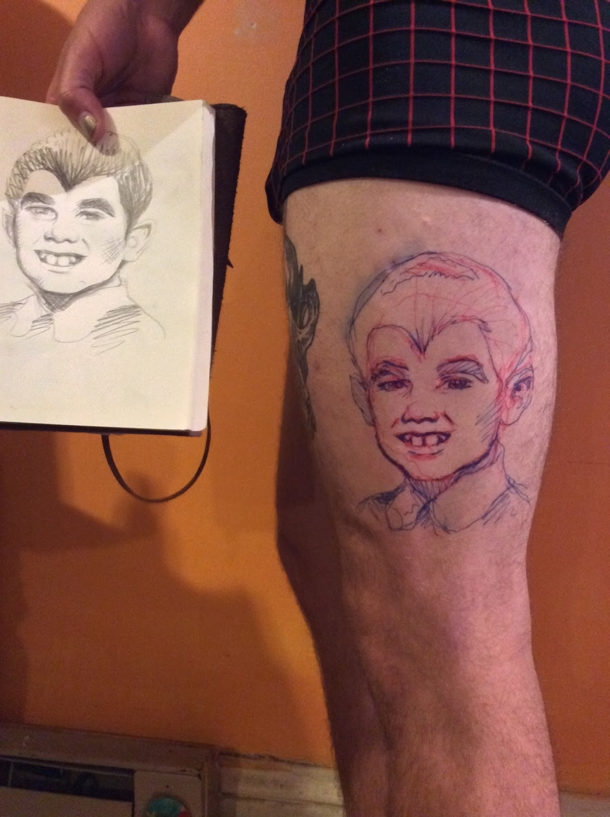 tattooed Brenda ass pierre rips tranny