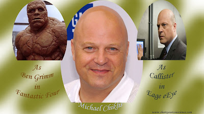 Michael Chiklis and Ben Grimm
