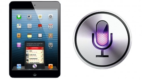 Order your iPad mini with Siri: Intelligent computing
