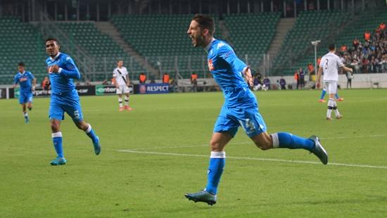 Legia Warszawa 0 x 2 Napoli - Europa League 2015/16