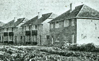 Brookers Lane prior to road construction 1946