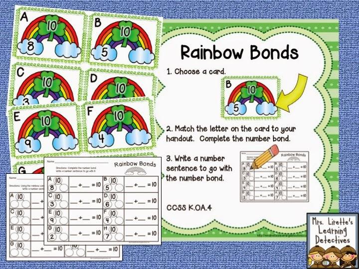 https://www.teacherspayteachers.com/Product/Clovers-Rainbows-Leprechauns-Oh-My-10-ELA-and-Math-Stations-1721117