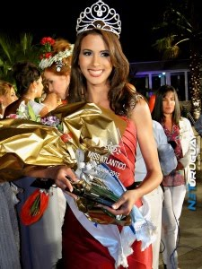 Miss Atlántic International 2012 - Catherine de Zorzi of Venezuela