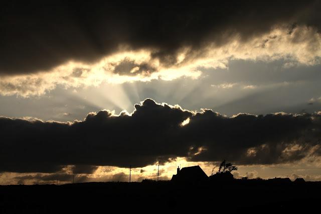 moody irish sky