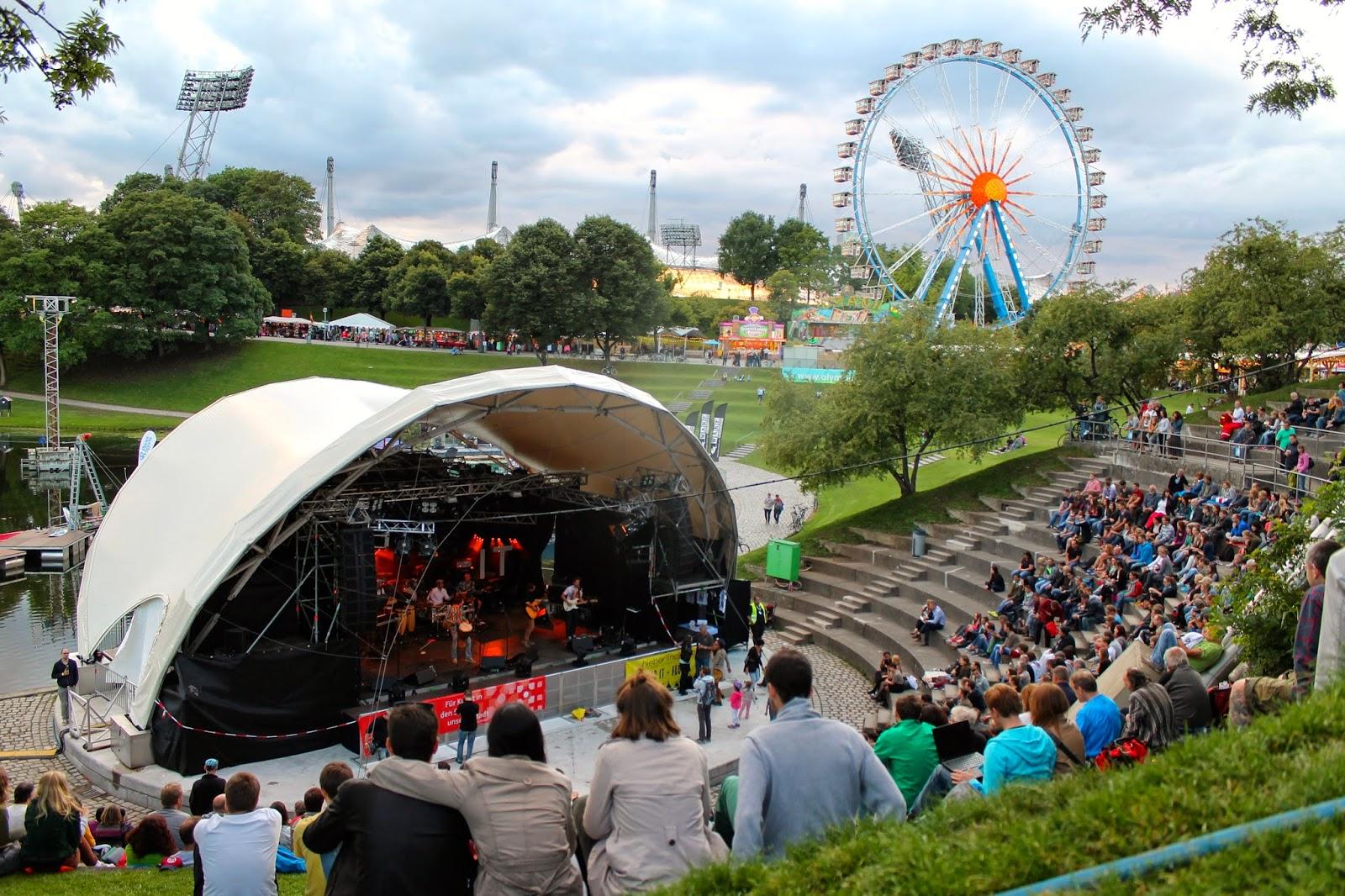 Summer Festival en Olympiapark. ¡Munich! en Hitzen Mundua