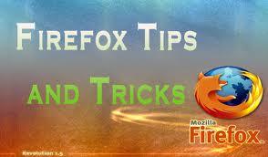 latest free firefox tips n tricks