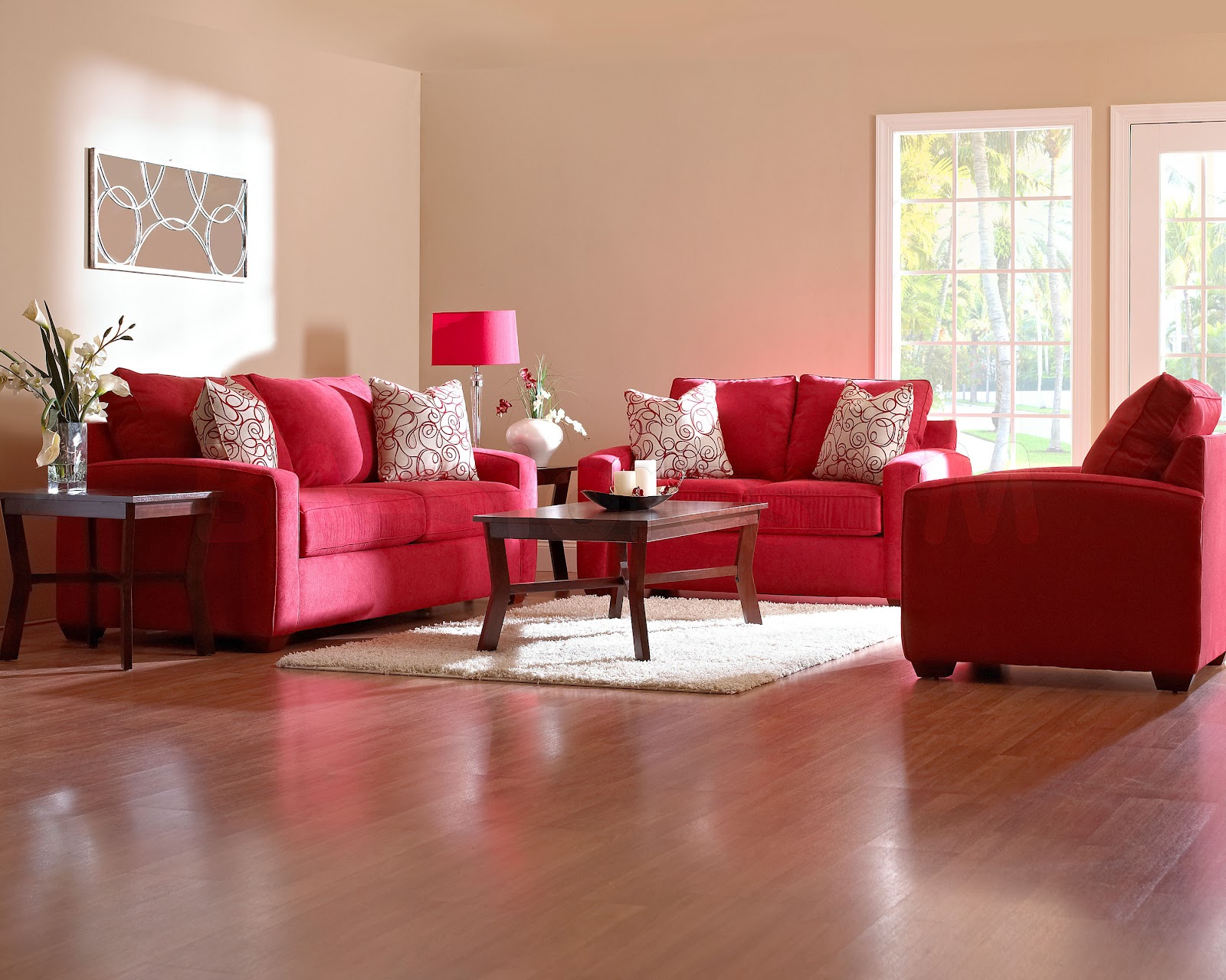 Red Sofa Living Room Ideas 1600 x 1280