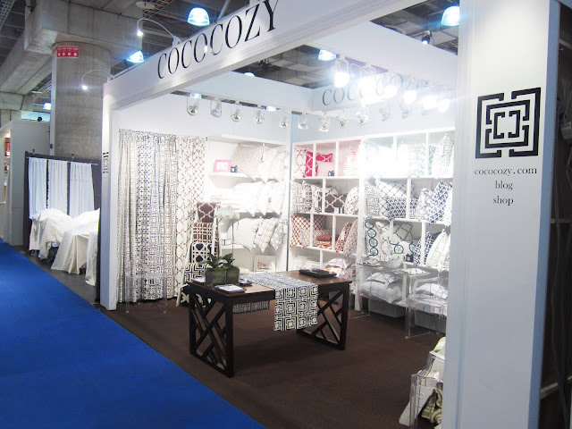 finished booth at the New York International Gift Fair
