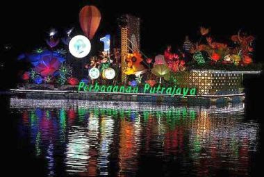 Colourful: Various interesting elements are at play on the Putrajaya Corporation's float.