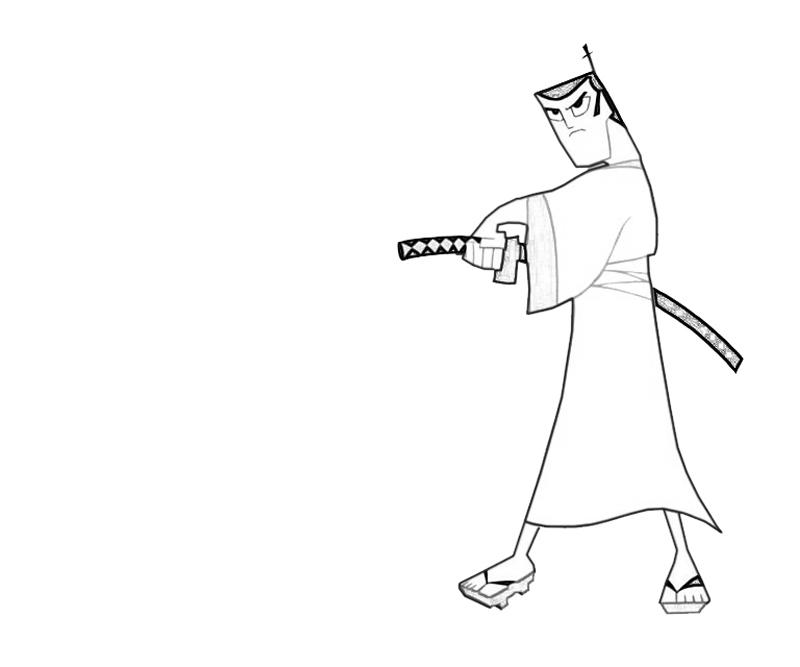 samurai-jack-attack-coloring-pages