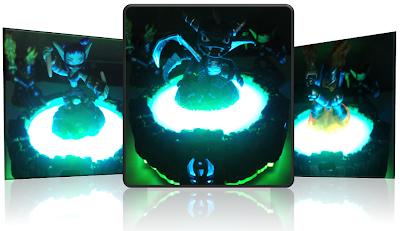 ANALISE - Skylanders spyro adventure. 3DS 3%2Bbonecos