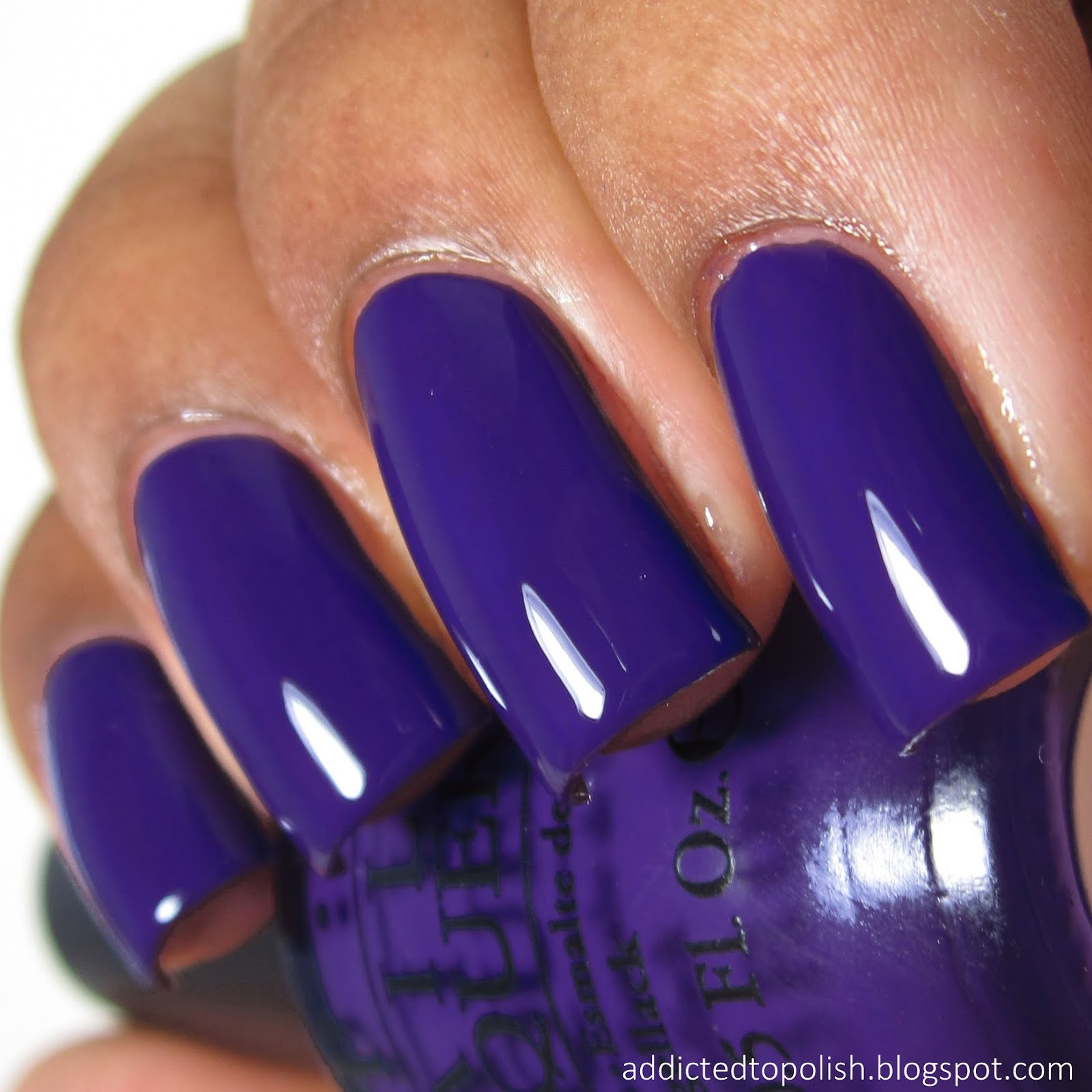 Neon Purple Nail Polish Opi