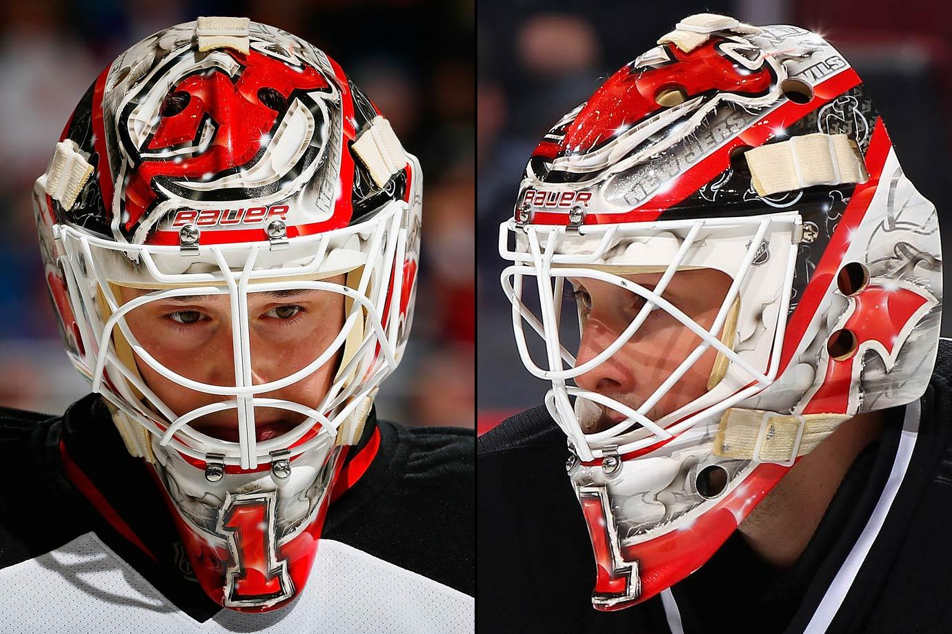 how to draw a goalie mask