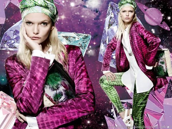 Jazmín Chebar moda 2014 primavera verano 2014