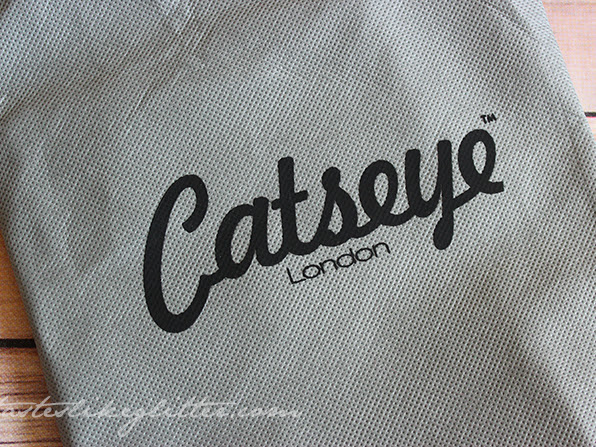 Catseye London Kitty Makeup Bag.