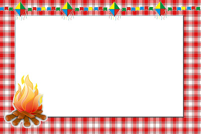 Xadrez Vermelho E Azul   Kit Completo   Molduras Para Convites