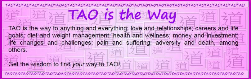 TAO IS THE WAY