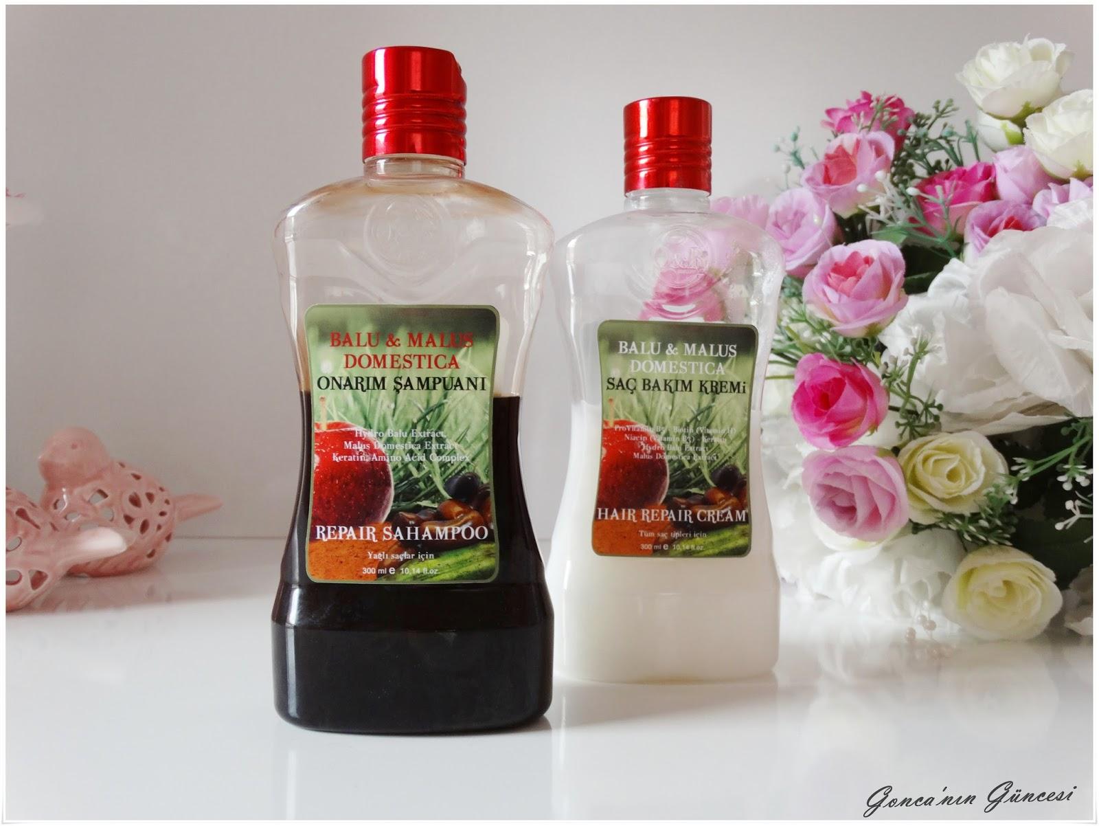 BH KozmetikBalu & Malus Domestica Şampuan & Saç Kremi