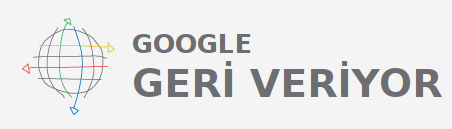 google gives back google geri veriyor