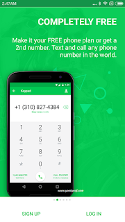 NextPlus: Get UK Phone Number For Free [APK]