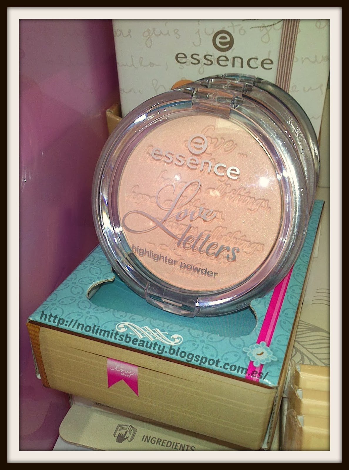 Essence Love Letters: highlighter powder