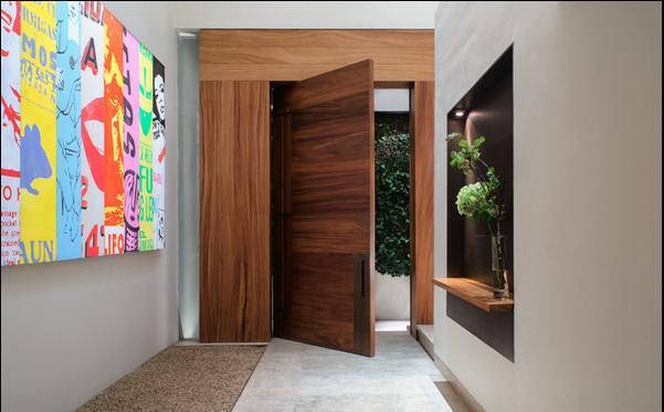Fotos y dise os de puertas julio 2013 for Disenos de puertas de madera para exterior