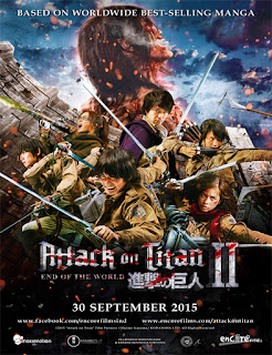 Attack on Titan 2: End of the World (2015) [Vose]