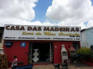 Casa das Madeiras, em Mairi