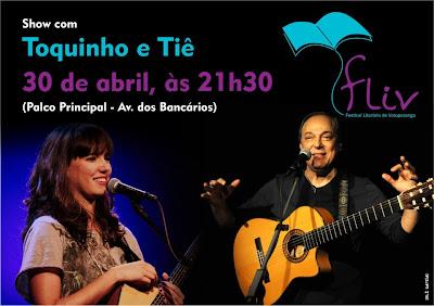 fliv 2013-festival literário-votuporanga-show-toquinho-tiê-cultura