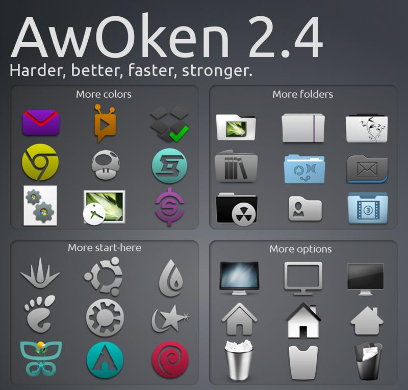 Tema ikon AwOken
