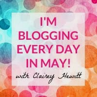 Blog Everyday in May