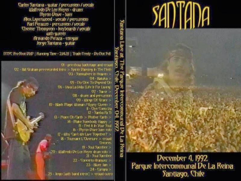 DVD SANTANA