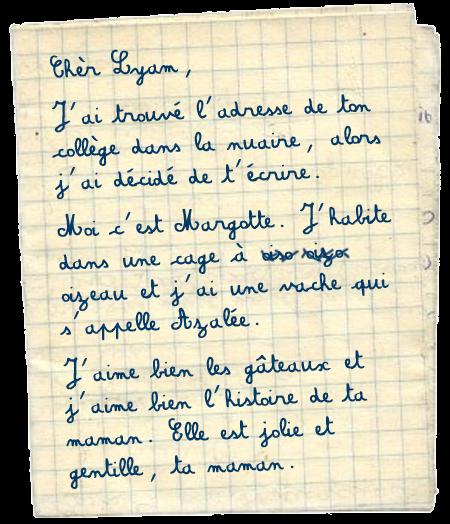 [PS épistolaire] Margotte à Lyam - 9 août 2014, p.4 Lettre+1