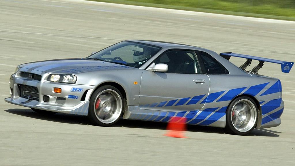 Kết quả hình ảnh cho 1999 Nissan Skyline GT-R R34 - 2 Fast 2 Furious 2003