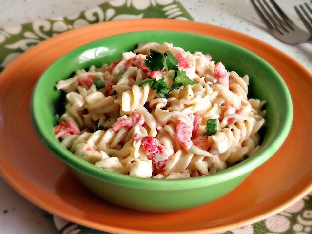 Pimento Cheese Pasta Salad - lacocinadeleslie.com