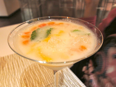 Water Chestnut Thai dessert at Red Zen