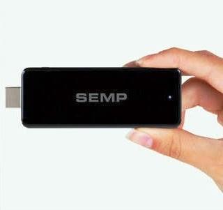 Stick PC, da Semp Toshiba, parece um pen drive mas é um PC
