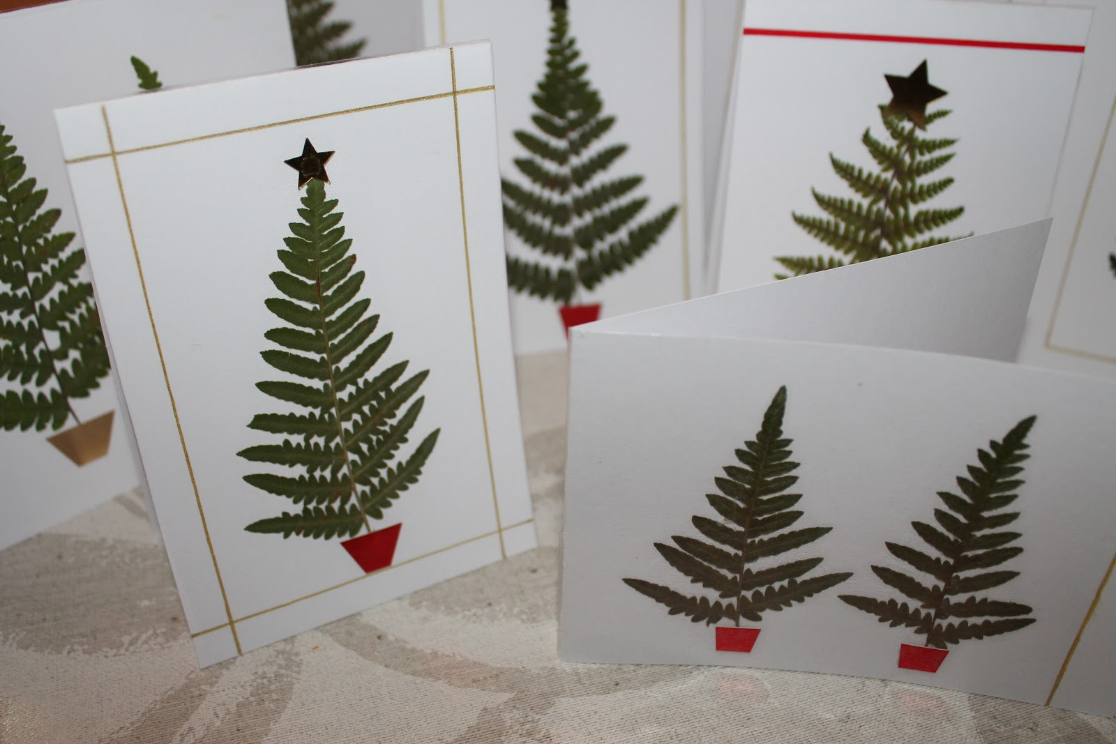 Christmas Card Craft Ideas Part - 49: Trends With Benefits - Blogspot