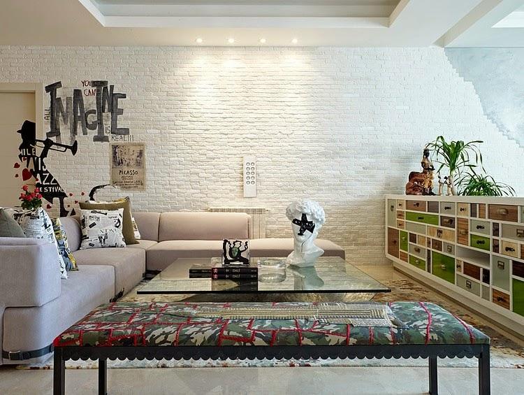 decoracao de sala unica: Change Home – Blog de Decoração : Uma sala única / A unique room