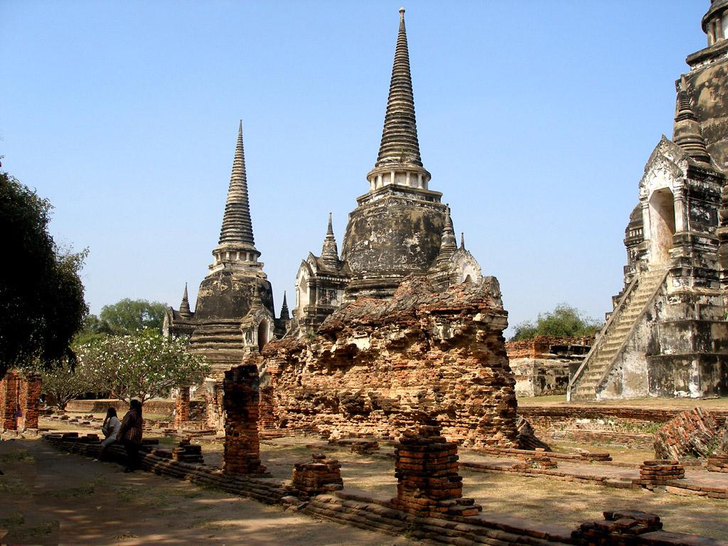 World thailand ruins in thailand