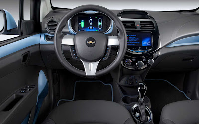 2014 Chevrolet Spark EV Hatchback Interior