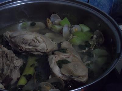 chicken tinola with malunggay recipe book