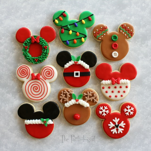 after the disney themed christmas sugar cookies were finished more ideas came to mind ill give you a hinti took several of my favorite christmas