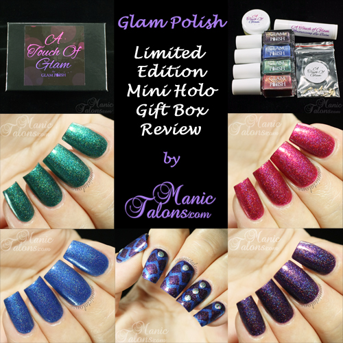 Glam Polish Limited Edition Holo Gift Box Review